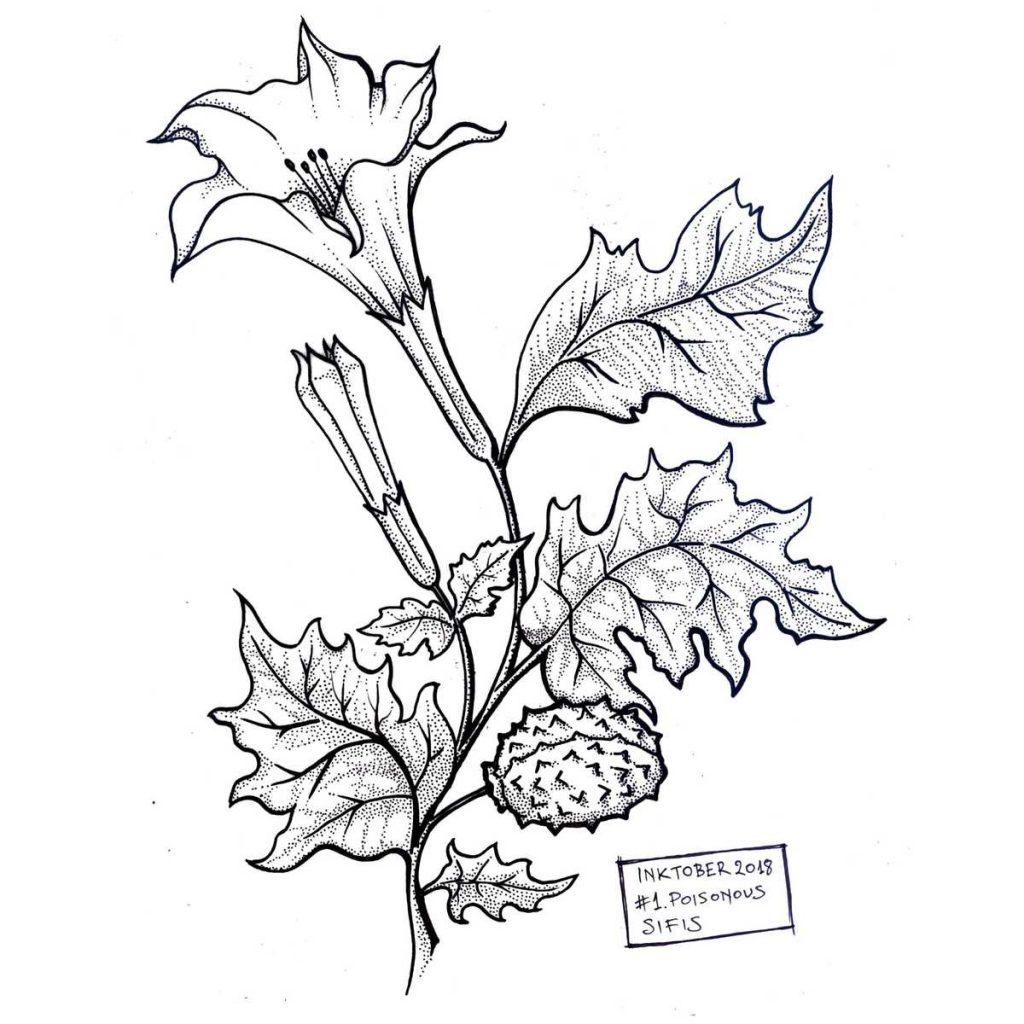 Poisonous - Marker sketch