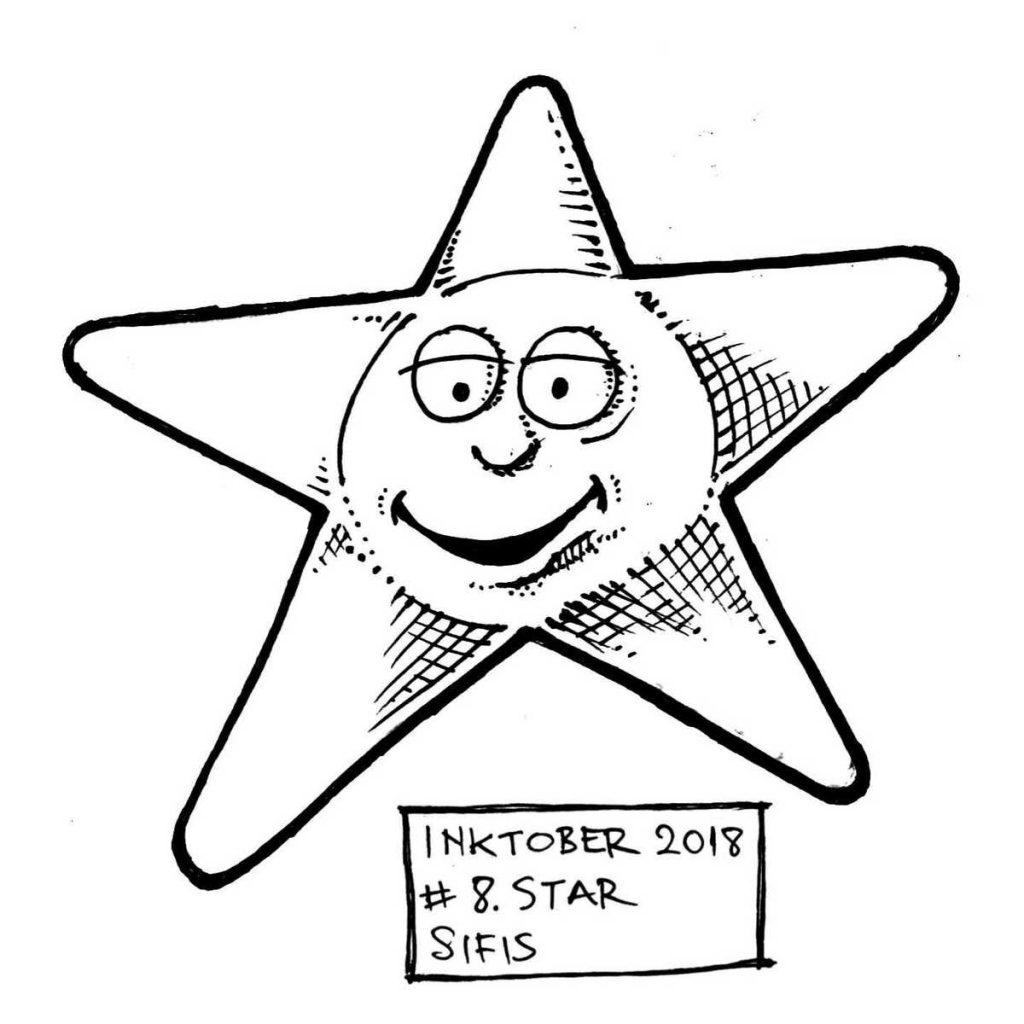 Star - Marker sketch
