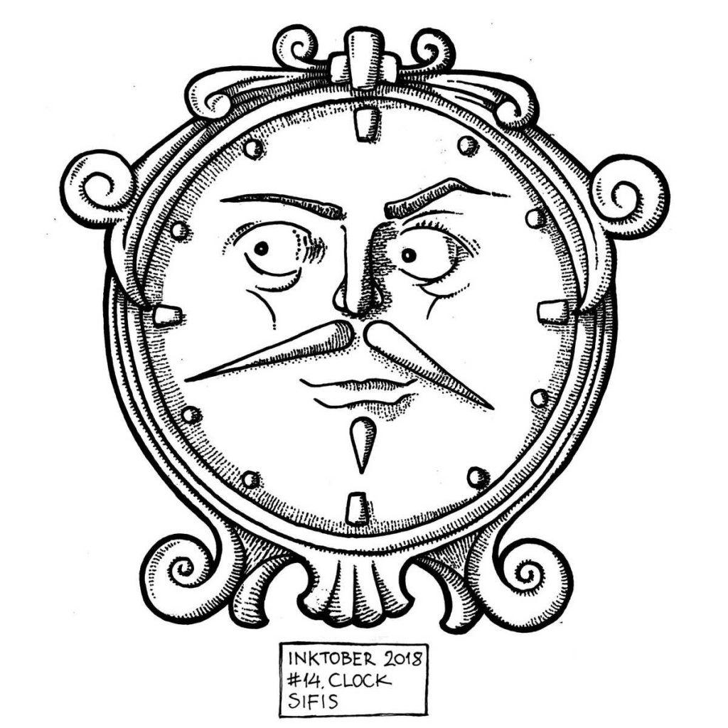 Clock - Marker sketch