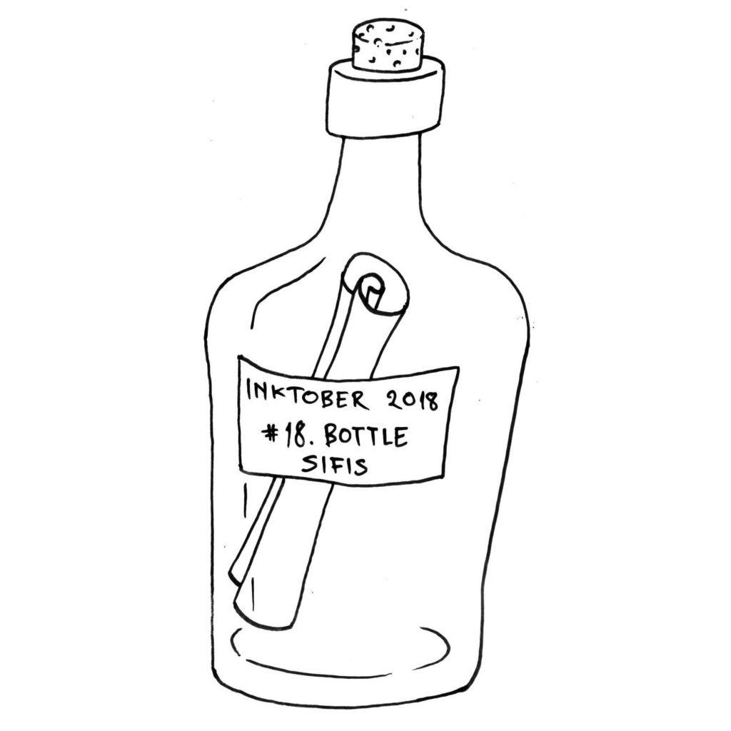 Bottle - Marker sketch