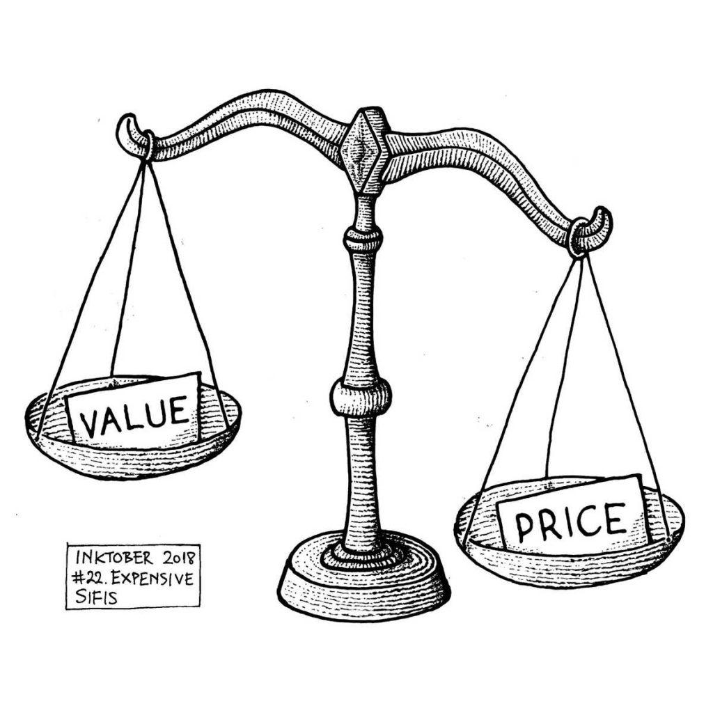 Expensive - Marker sketch