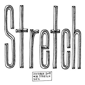 Stretch - Marker sketch