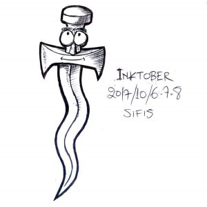 Shy Crooked Sword - Ballpoint Pen