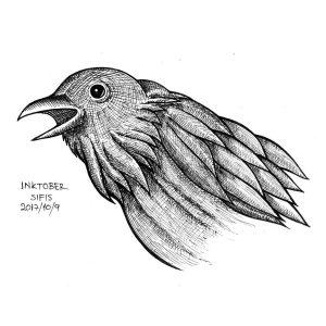 Crow - Marker sketch