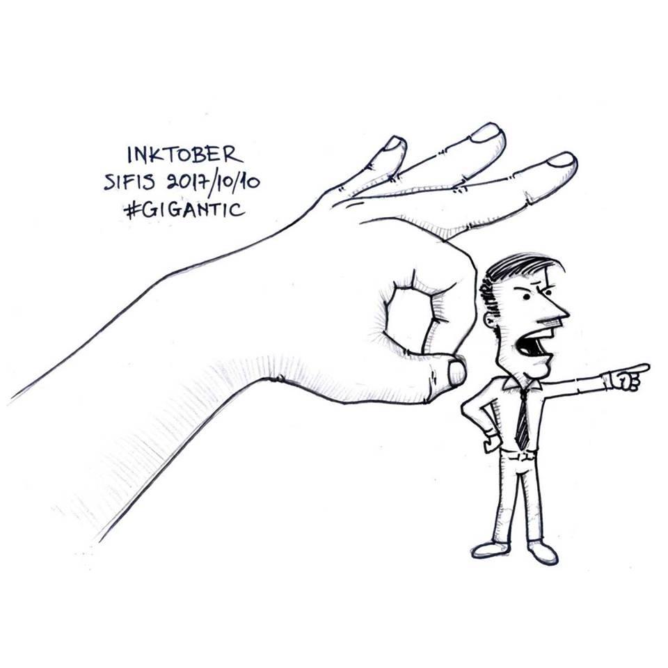 Gigantic - Marker sketch