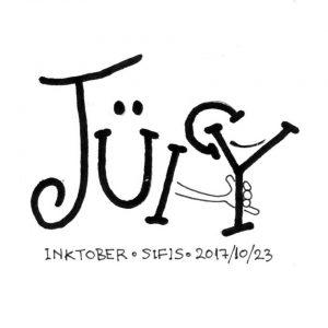 Juisy Logo - Marker sketch