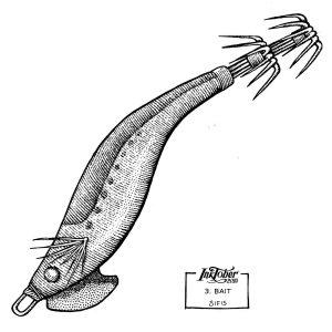 Bait - Marker sketch