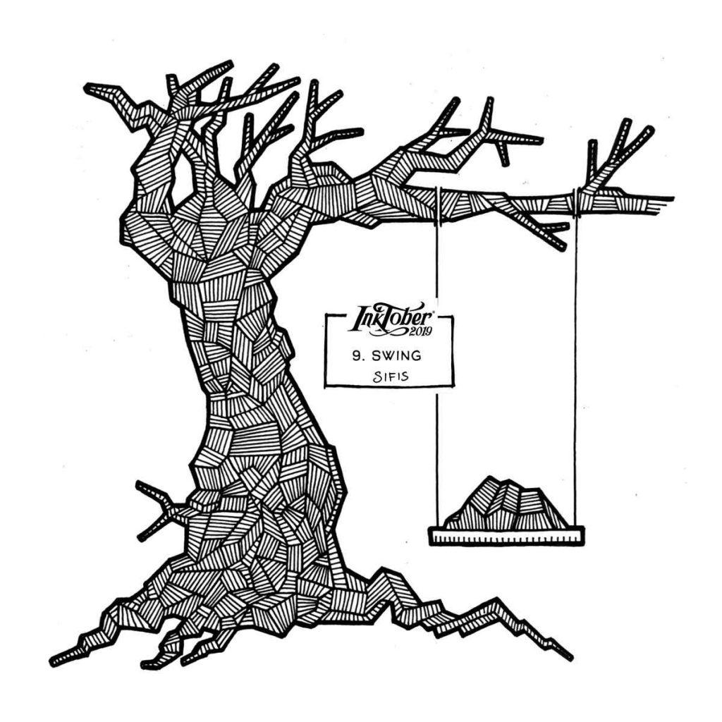 Swing - Marker sketch