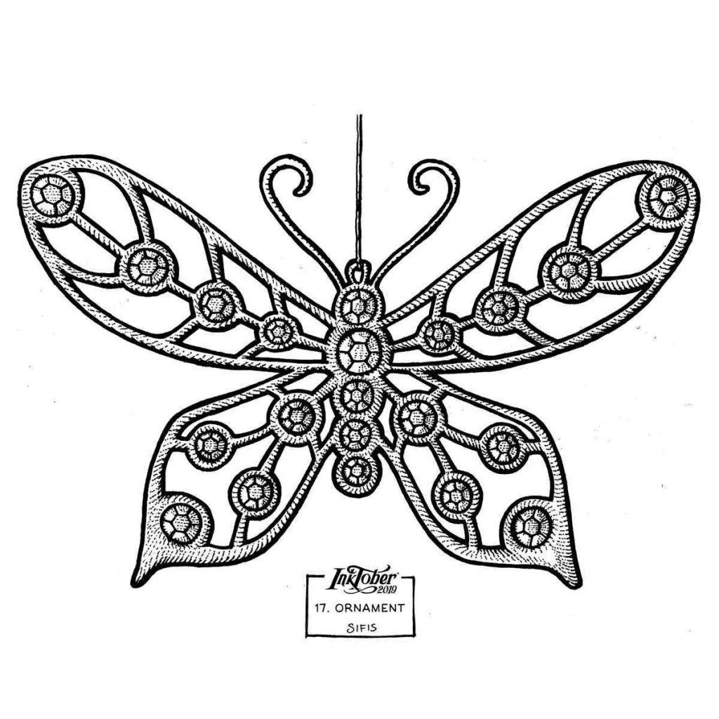 Ornament - Marker sketch