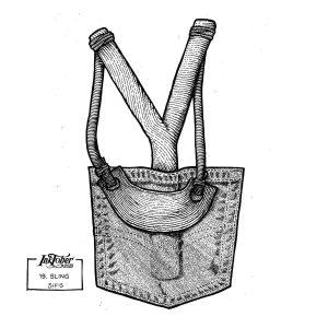 Sling - Marker sketch