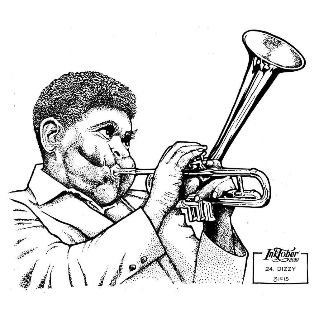 Dizzy - Marker sketch